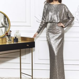 Blouson Long Sleeve Gown.JPG