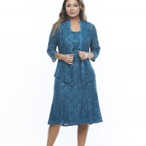 Sequined lace dress and jacket.jpg