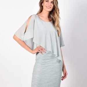 SHeath Dress with cape.JPG