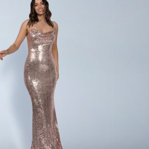Cowl Neck Sequin Gown.JPG