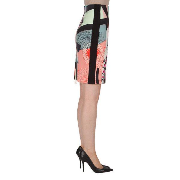 Colorful Print Pencil Skirt.JPG