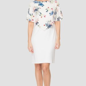 Floral Overlay Sheath Dress.JPG