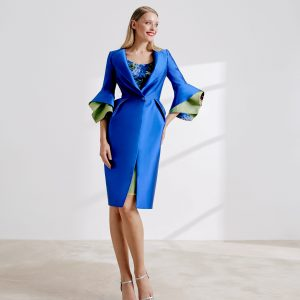 Luxury Mikado coat with sheath dress.JPG