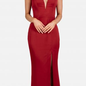 V-NECK SATIN GOWN.JPG