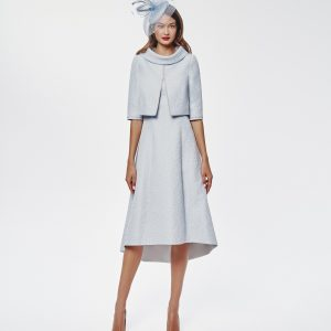 HIGH LOW TEXTURED DRESS WITH JACKET.JPG