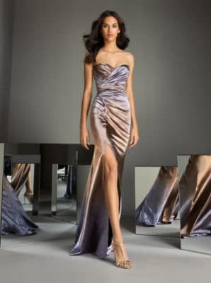 Mermaid dress with sweetheart neckline and open back.JPG